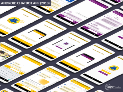 Android Chatbot App (2018) development ux ui app chatbot android