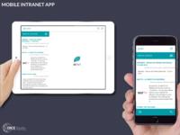 Mobile Intranet App (2015)