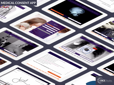 Medical Consent App (2015) development ios app ui ux