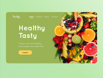 Fruitify Web Design