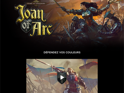 Joan of Arc l Homepage
