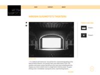 Hiroshi Sugimoto's theaters