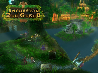 Incursion in Zul'Gurub - Wallpaper