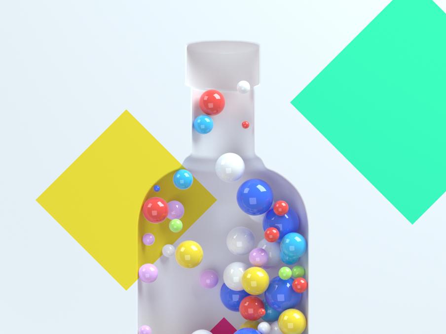 Absolut Creative Competition vodka absolut render typography abstract advertising 3d art cinema 4d illustration design art direction cinema4d c4d 3d octane