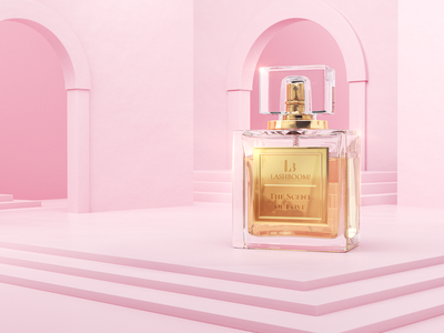 LashBoom! - Perfumes look development freelance mirosz piotr mirosz advertising compositing illustration design art direction cinema4d 3d c4d octane