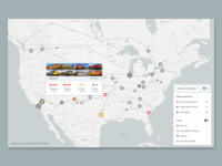 Train Logistics Map