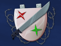 Pink badge of courage