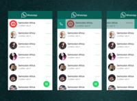 WhatsApp Redesign Version 3