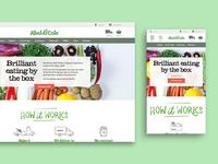 Abel & Cole | Website Design