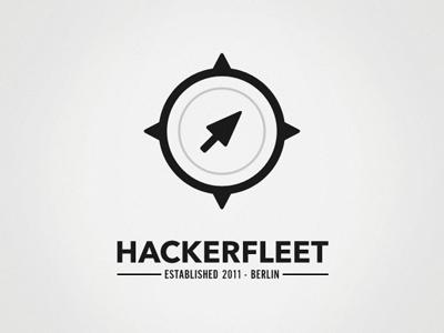 Hackerfleet Vert cursor mouse compass hackerfleet berlin logo