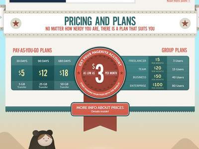 Pricing pricing table badge feature red blue money plans ui