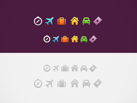 Purple iconset