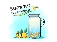 Summer is lemonade!