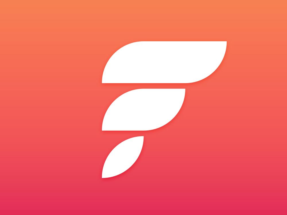 Flightio Logo Proposal startup logo iran wing logo flight logo f logo travel agancy branding logo design logo