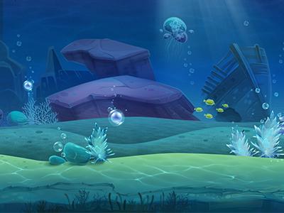 Underwater environment concept