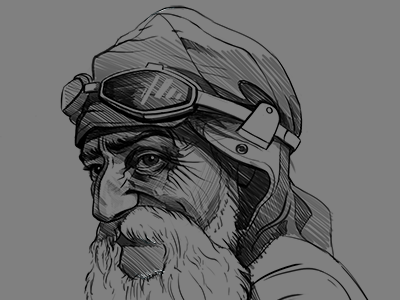 Character portrait sketches