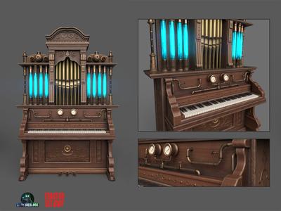 Steampunk Piano