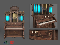 Steampunk Piano