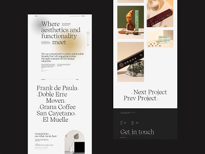 Antara Studio - 02 minimal studio webgl typography clean design type web ux ui