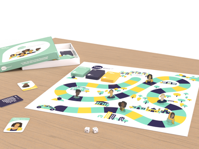 Tous égaux - Board game vector art vector illustration card humans equality cards against humanity cards design board game racism school ui design ux branding vector illustration colorful game discriminations