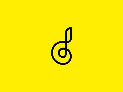 D & NOTE logo note d