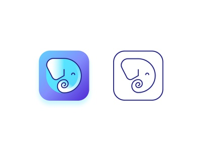 App Logo application app logo elephant