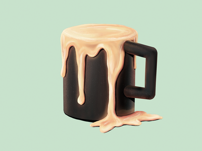 Coffee Cup procreate ipad 2 painting digital ipad cup coffee illustration