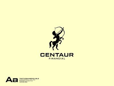 Centaur Financial Logo natural horses animal logo horse centaurs logo centaur menhorse logo menhorse logo horseman logo horseman logo animal vector logo branding