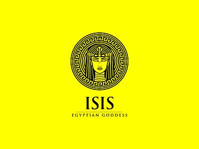 Isis Egyptian Godess Logo antient logo antient logo egypt isis logo isis logo isis line art logo isis line art logo egyptian goddess logo egyptian goddess logo egyptian logo illustration creative logo vector logo branding
