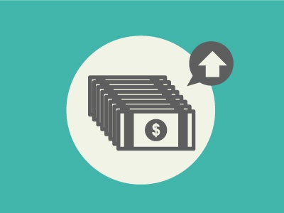 Why currency goes up? economics infographic data vector