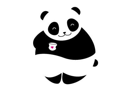 Panda panda bear vector illustration