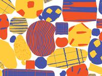Pattern rocks