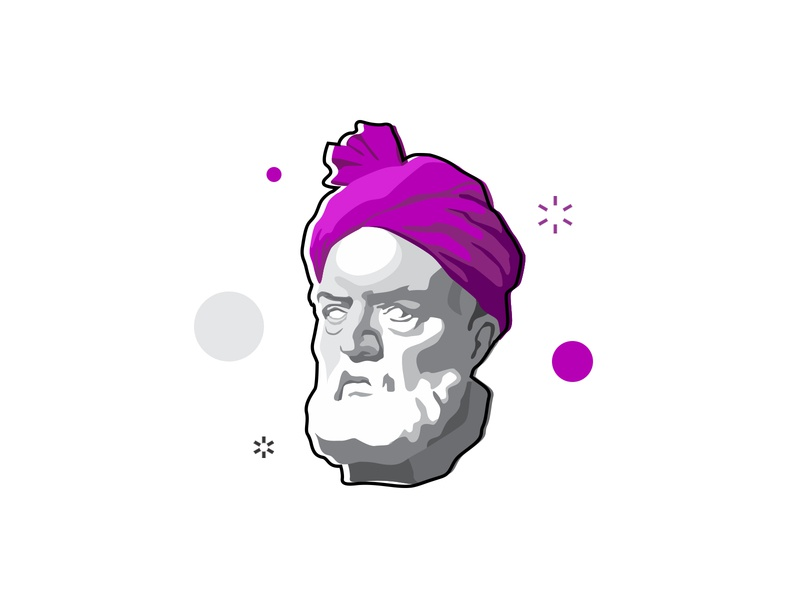 Ferdosi face illustration