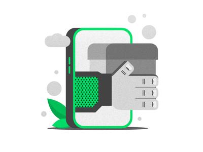 SnappBox Website Illustration