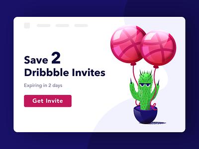 Two Dribbble Invites Giveaway uidesign graphicdesign illustration portfolio ux ui uiux invites giveaway dribbble invite dribbble