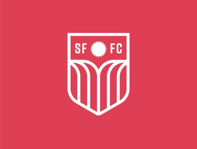 Sioux Falls FC crest team football soccer sports waterfalls waterfall water flag sun identity south dakota branding vector design illustration icon logo