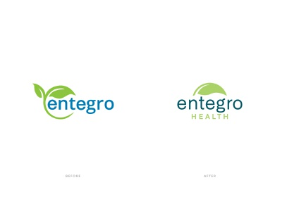Entegro Rebrand medicine probiotics health redesign rebrand identity branding vector design illustration icon logo