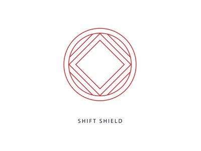 Bala Shift Shield shoe footwear healthcare nurse identity branding vector design illustration icon logo