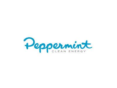 Peppermint logotype