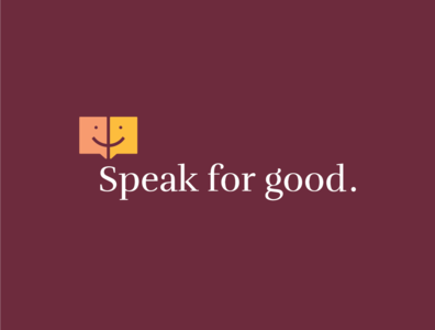 Speak For Good