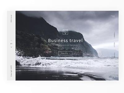 Y E M . T R A V E L Business tours concept design tours business minimal traveling concept animation website web ux ui design