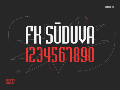 Typography | FK Sūduva