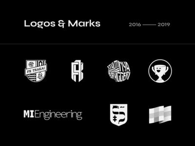 Logos & marks 2016 — 2019