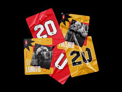 Hockey Lietuva | U20 World Championship · 2020 cards hockey player team national lithuania 2020 u20 championship world hockey