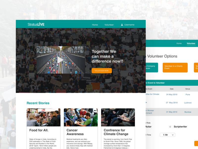 StratusLive Volunteer Portal