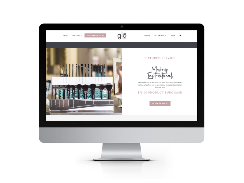 eCommerce Website for Sophisticated Salon & Spa
