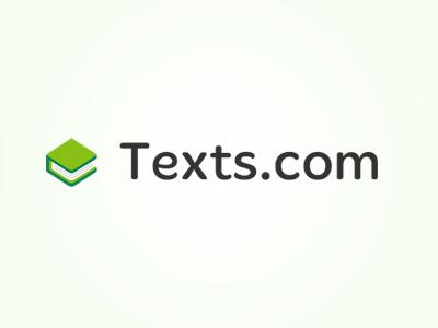 Texts.com Logo logo illustrator book green