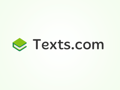 Texts.com Logo logo illustrator book green