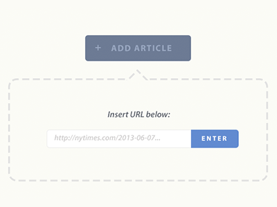 Add Article article add button link flat