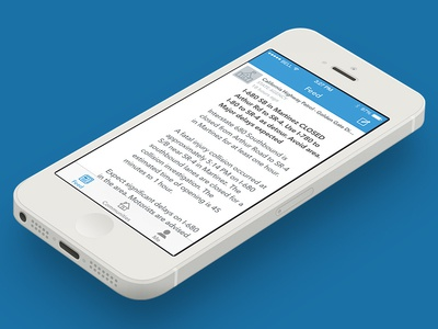 Nixle — iOS ios sketch iphone mobile launch feed post